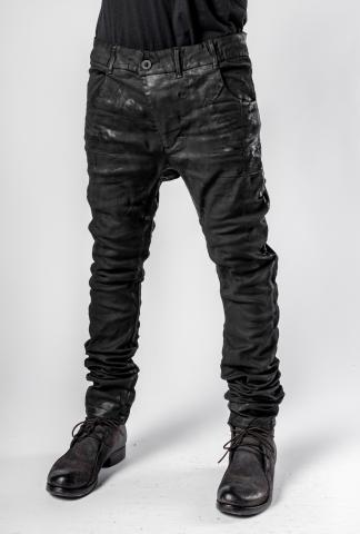 Boris Bidjan Saberi P13TF Vinyl Processed, Nickel Pressed Jeans