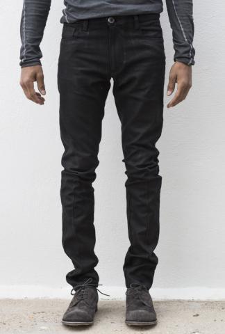 Manuel Marte Coated Slim Fit Jeans