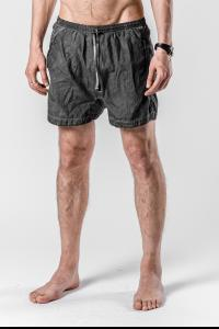 Boris Bidjan Saberi SWIM1 Resin Coated Swim Shorts