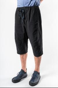 Individual Sentiments Textured Shorts with Elasticated Waistband