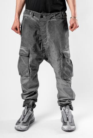 11byBBS P21B Dirty Grey Technical Cargo Trousers