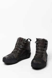 Boris Bidjan Saberi BAMBA1 Horse Leather High-top Sneakers