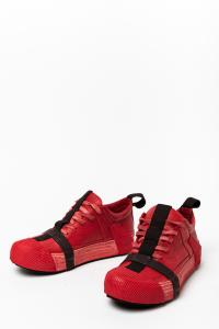 Boris Bidjan Saberi Blood Red Kangaroo Leather BAMBA2 Sneakers