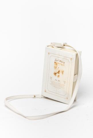 A Tentative Atelier Eakins Leather Book Bag