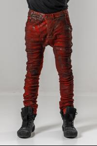 Boris Bidjan Saberi P14 Semi Handstitched, Vinyl Processed, Body Molded Jeans