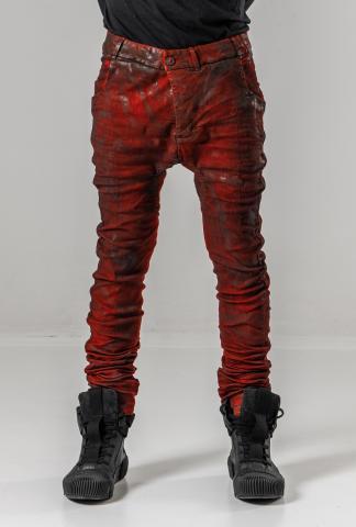 Boris Bidjan Saberi P14 Semi Handstitched, Vinyl Processed, Body Molded Jeans