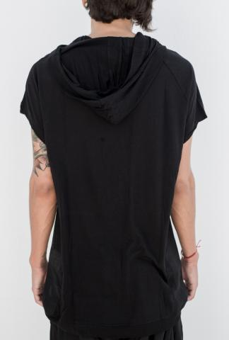 MA_JULIUS Hooded tee s/s