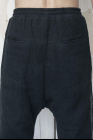 Lumen Et Umbra Double Layer Drawstring Cotton Net Curve Trousers