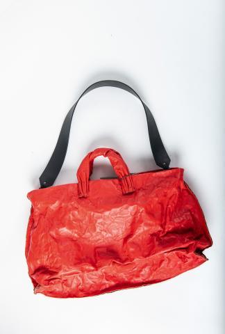 Simona Tagliaferri A301 Large Anima Metal Embedded Calf Leather Bag