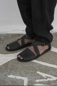 Marsell Black colour buckle sandal
