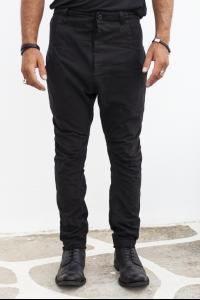 Leon Louis Tapered Low-crotch Jeans