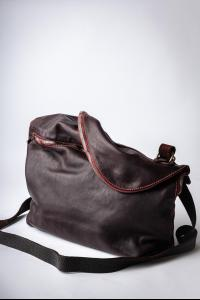 Guidi M10 CV23T Soft Horse Full Grain Leather Messenger Bag