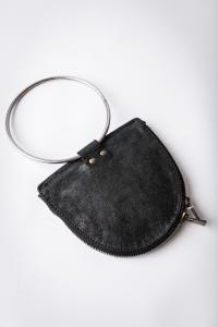 Guidi S06 BLKT Metal Ring Purse