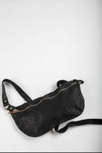 Guidi Q10M BLKT Soft Horse Full Grain Leather Belt Bag