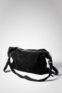 Guidi Q15 BLKT Horse Reverse Leather Cross Body Bag