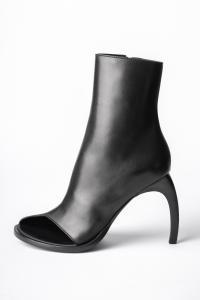 Ann Demeulemeester Open Toe Curved High Heels