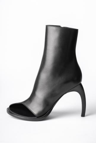 Ann Demeulemeester Open Toe Curved High Heels