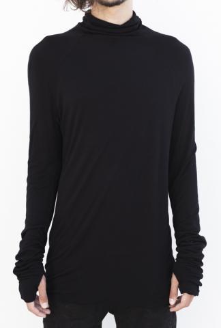 Andrea Ya'aqov Long sleeve black tshirt