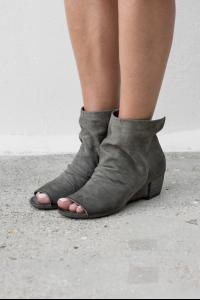 Marsell Dark slate gray colour open toe boot