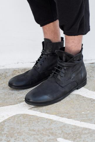 Marsell Black colour laced boot