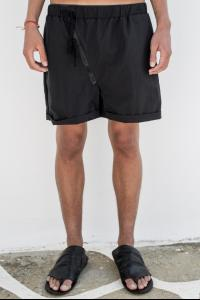 Andrea Ya'aqov One zip black classic shorts