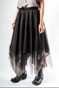 Marc Le Bihan Three-layer Silk Organza Skirt