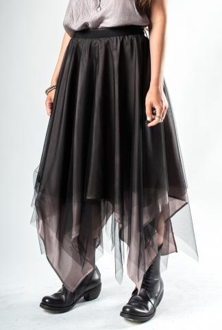 Marc Le Bihan Three-layer Silk Organza Skirt