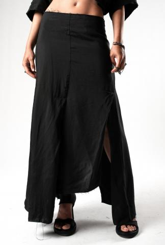 Alessandra Marchi Deconstructed Long Skirt