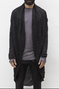 Manuel Marte Circle Knit Metal Blend Cardigan