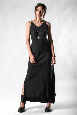 Andrea Ya'aqov Side Slit Long Dress