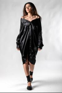 Andrea Ya'aqov Transformer Shirt Dress