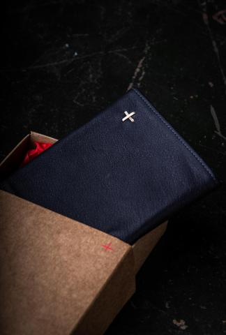 M.A+ WS93 Full Grain Cow Leather One Piece Wallet
