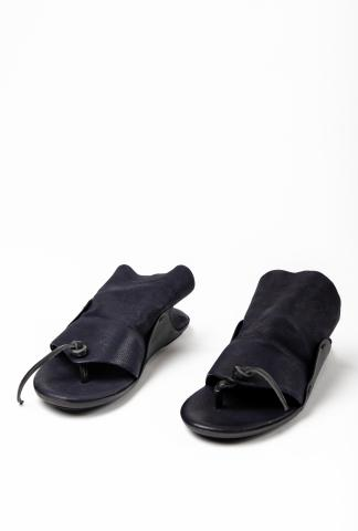 Uma Wang Leather Opanca Sandals
