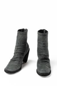 Guidi 3006 BLKT Linen Back-Zip Heels
