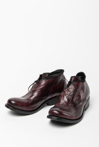 Leon Emanuel Blanck DIS-M-RTD-01 Anfractuous Distortion Horse Leather Asymmetric Round Toe Derbies