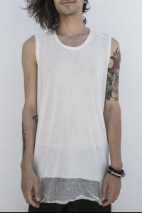 JULIUS_7 sleeveless tee/tank