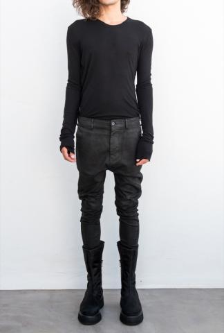 Julius_7 JEAN PANTS  w/knee seams, slim fit