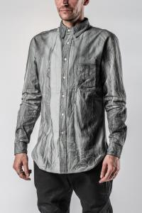 Sagittaire A. Shoulder Dart Slim Carbon Fiber Shirt