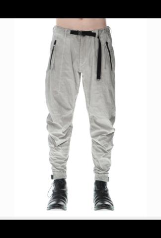 D.HYGEN Salt-shrinkled NC Tapered Cropped Pants