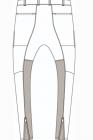 D.HYGEN Dobby Minimalist Border Slim Tapered Pants