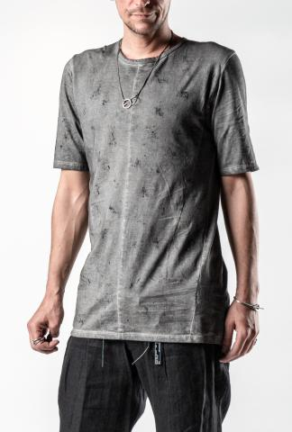 D.HYGEN Over Stone Cold Dyed 1/2 Sleeve  T-Shirt