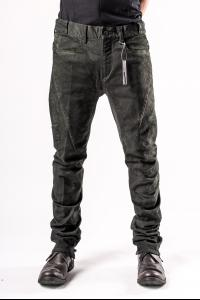 D.HYGEN Cold Dyed Curve Slim Pants