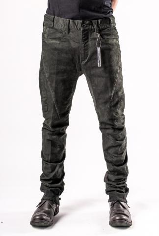 D.HYGEN Cold Dyed Curve Slim Pants