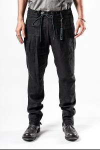 D.HYGEN Linen herringbone Tapered Pants
