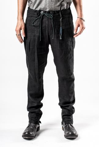 D.HYGEN Linen herringbone Tapered Pants