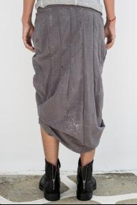 MA_Julius 500SKM1 Asymmetric Pleated Wrap Skirt