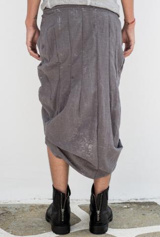 MA_Julius 500SKM1 Asymmetric Pleated Wrap Skirt