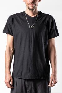 Syngman Cucala Panelled V-neck Short Sleeve T-shirt
