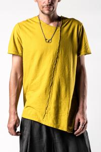 Syngman Cucala Asymmetric Short Sleeve T-Shirt