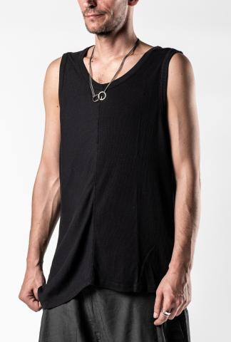 Syngman Cucala Asymmetric Ribbed Tank Top